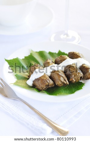 Dolmades - stock photo