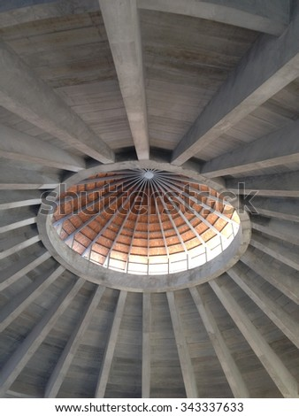 dome structure - stock photo