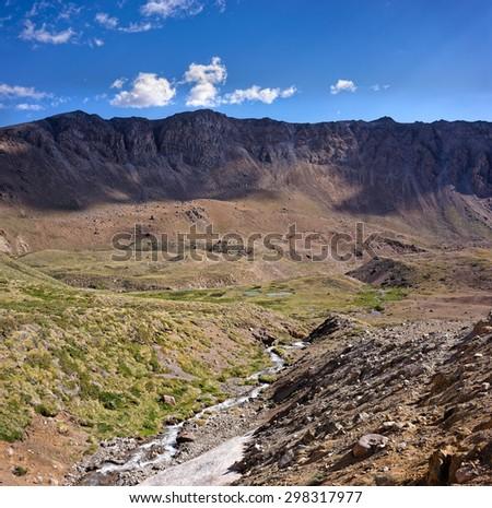 Domuyo Provincial Park, Neuquen, Argentina - stock photo