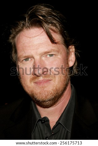"""Donal Logue attends the Los Angeles Premiere of """"Zodiac"""" held at the Paramount Pictures Studios in Hollywood, California on March 1, 2007.  - stock photo"""