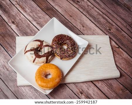 Donuts Assortments - stock photo