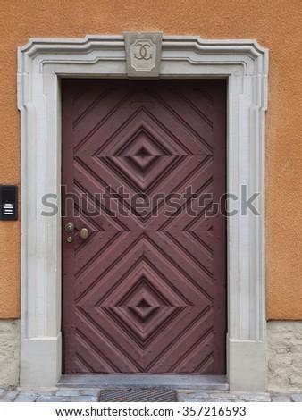 Door 2 - stock photo
