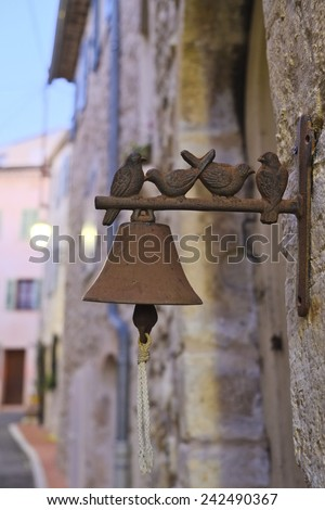 door bell - stock photo
