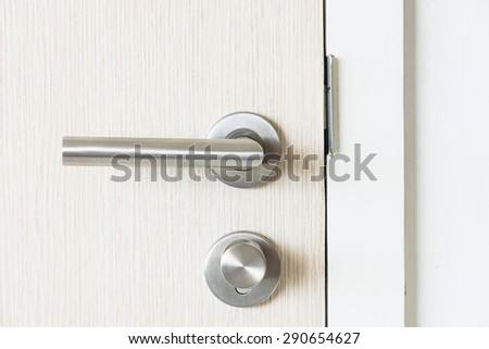 Door handle kob - stock photo