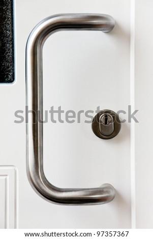 door hardware - stock photo