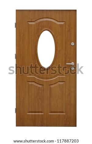 door - isolated - stock photo