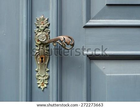 doorhandle - stock photo