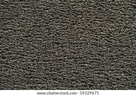 Doormat background or wallpaper - stock photo