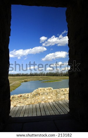 Doorway to paradise(exclusive at shutterstock) - stock photo
