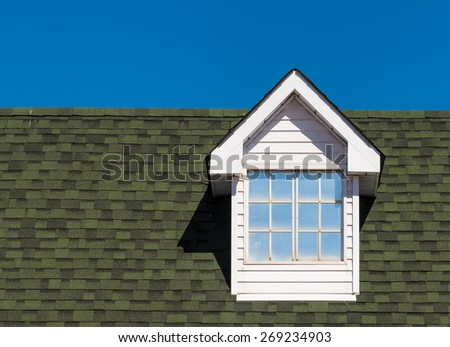Dormer window - stock photo