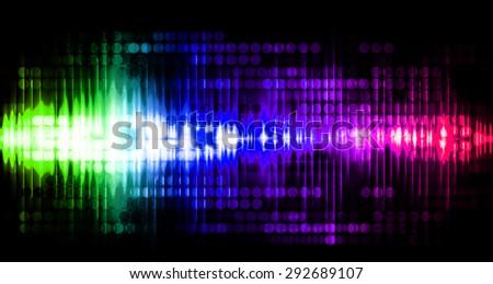 Dot background. Illustration. dark green blue purple pink lights motion blur Abstract Background. wave. infographics. - stock photo
