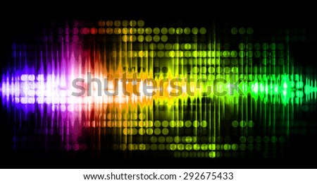 Dot background. Illustration. dark green yellow pink purple red lights motion blur Abstract Background. wave. infographics. - stock photo