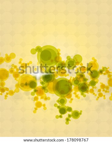 Dots Abstract Background - stock photo
