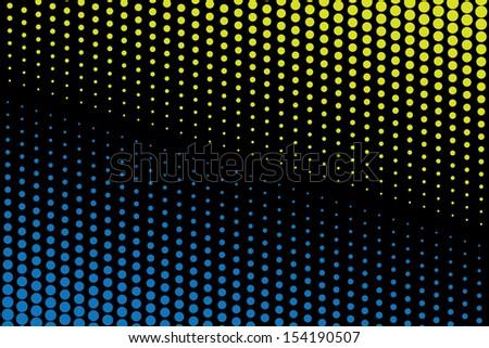 dots background. dark.(rasterized version) - stock photo