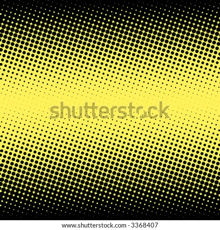Dotted gradient - stock photo