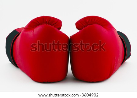 Double punch - stock photo