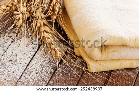 dough - stock photo