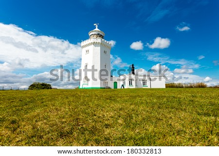 Dover's Lighthouse - stock photo