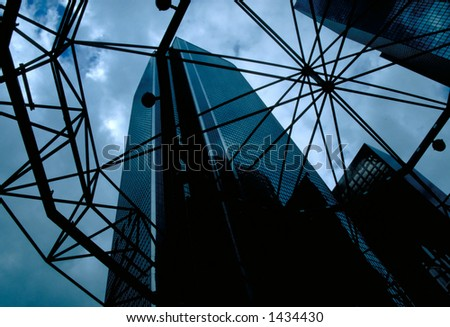 Downtown Los Angeles, California - stock photo