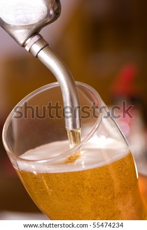 Draft beer - stock photo