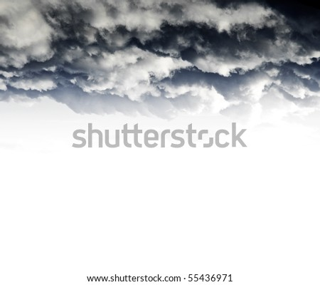 Dramatic skies - stock photo