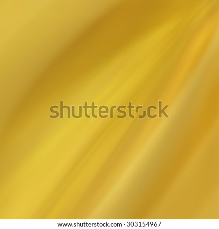 draped folds of gold cloth background - stock photo