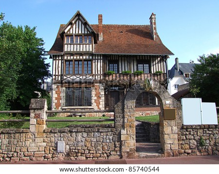 Dream House, Deauville - stock photo