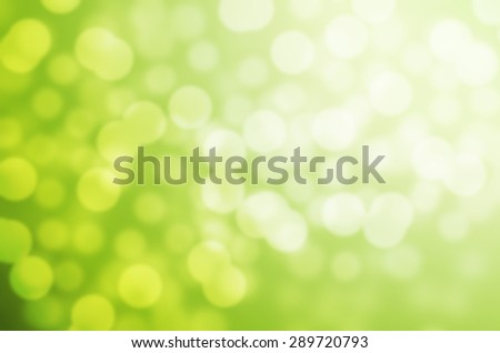 Dreaming Green Tone Cool Feeling Natural Bokeh Blurred Background Texture-Recovered - stock photo