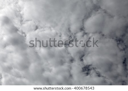 Dreamy cloudscape for background.  - stock photo