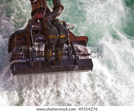 Dredging head - stock photo
