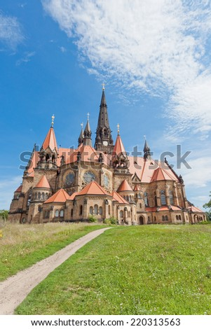 Dresden - Germany - Garrison church - stock photo