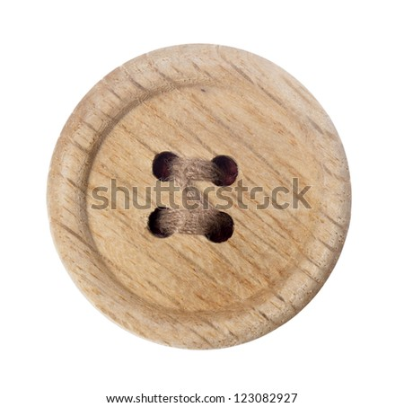 dress button - stock photo