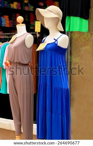 Dress Sales - stock photo