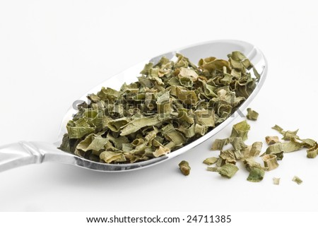 Dried Chives - stock photo