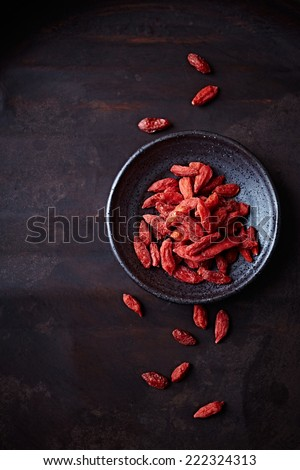 Dried Goji Berries - stock photo