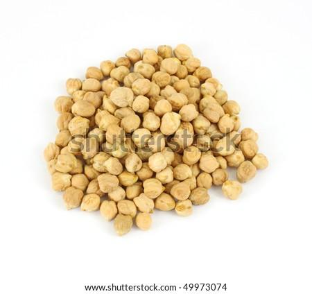 Dried of garbanzo beans - stock photo