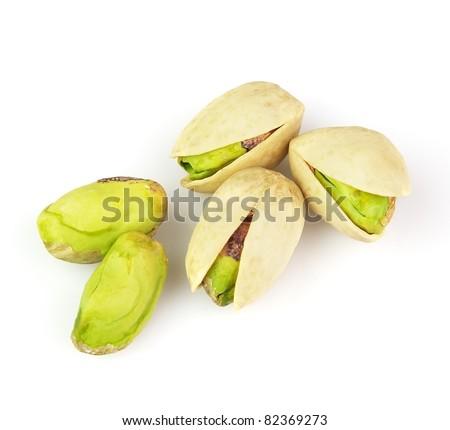Dried pistachio - stock photo