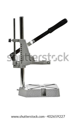 Drilling Press without drill - stock photo