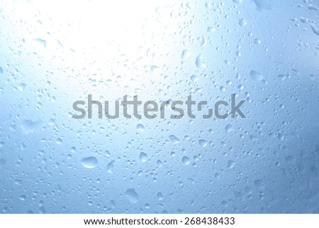 Drip stains - stock photo