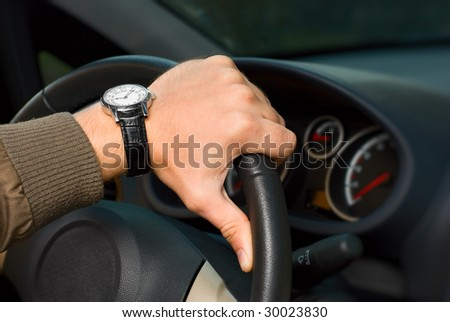driving - stock photo