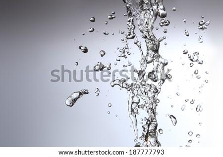 Bb poker face snow water drop