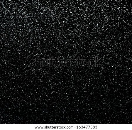 Drops of rain on a black background - stock photo