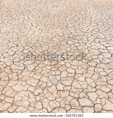 drought land background - stock photo