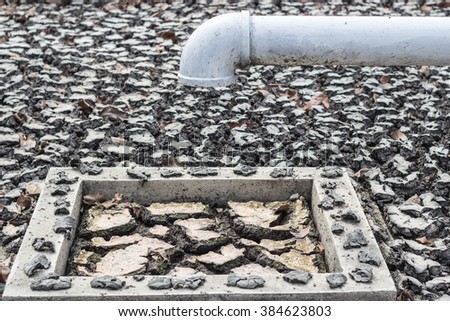 Drought, water does not flow - stock photo