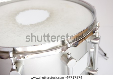 Drums conceptual image.. Approximation of snare. - stock photo