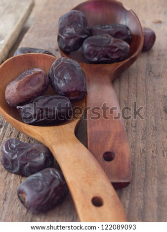 dry date fruit - stock photo
