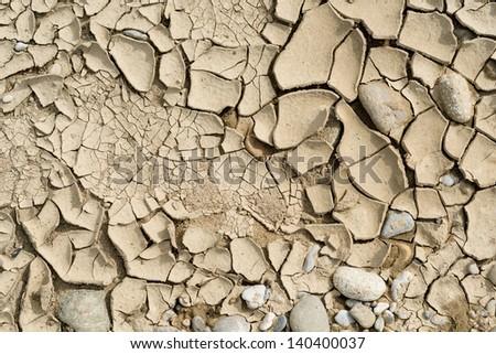 dry earth - stock photo