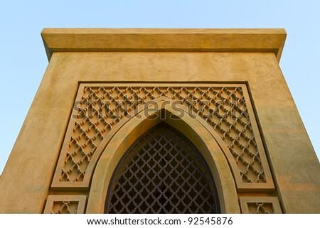 Dubai arabic art - stock photo