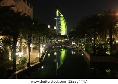 Dubai city - stock photo