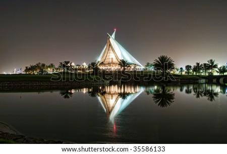 Dubai Creek Golf Club - stock photo